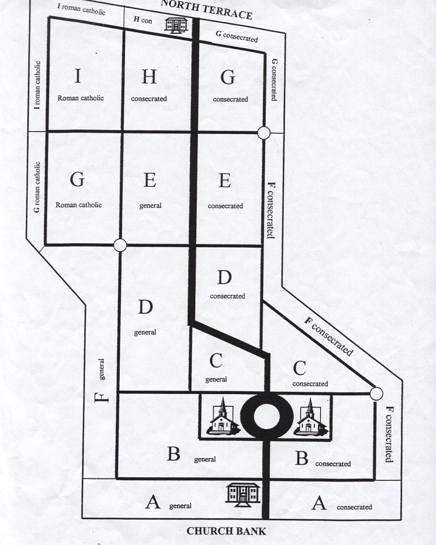 margaret hall genealogy cemetery section plans